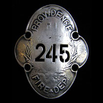 firemans badge